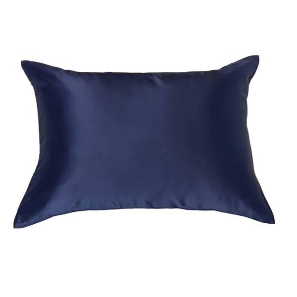 Bilde av Silkeputetrekk - mørkeblå