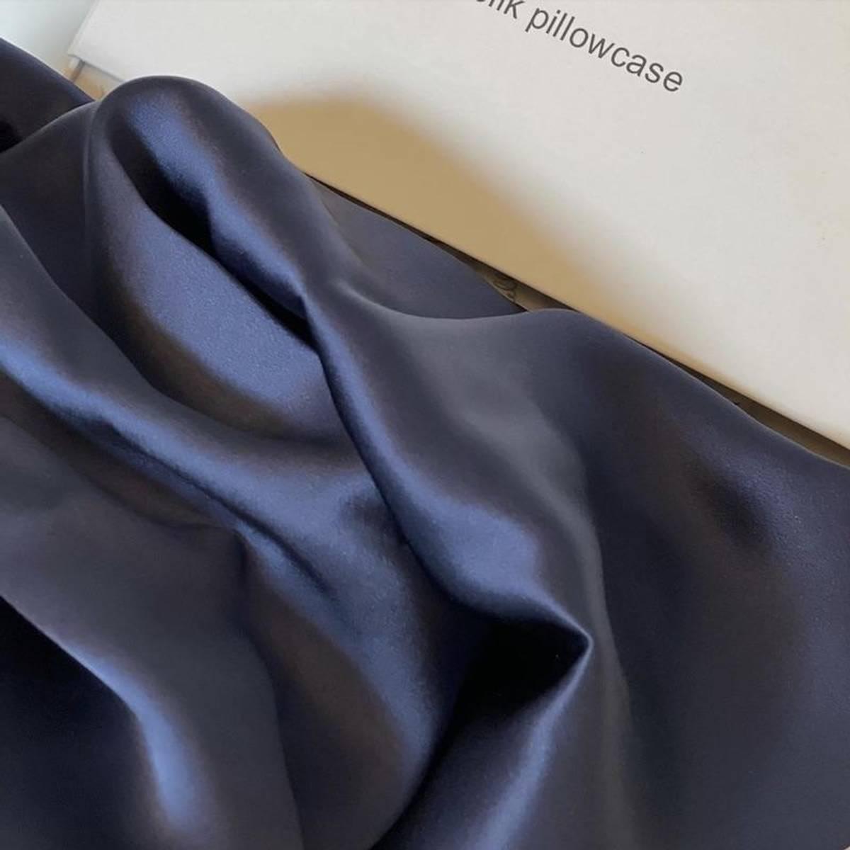 Silkeputetrekk - mørkeblå
